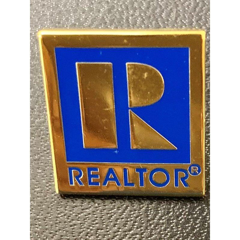 Pin-Realtor Lg Gold & Silver