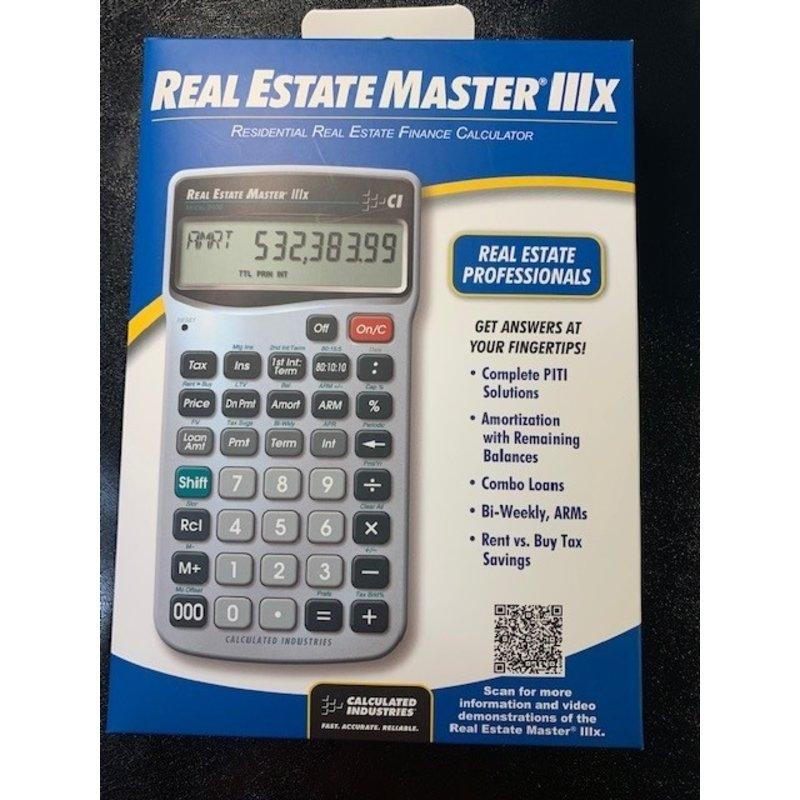 Calculator RE Master IIIx
