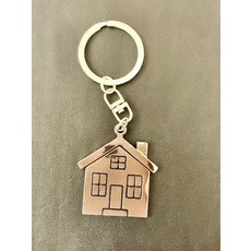 Key Ring House with Windows
