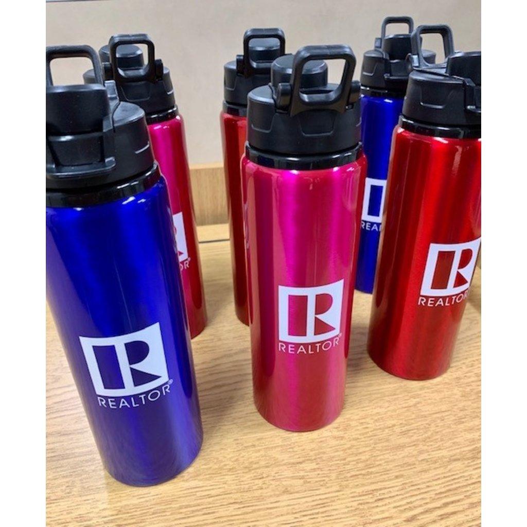 R Logo Surge Aluminum Water Bottle