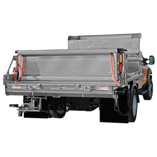 SaltDogg SaltDogg Under Tailgate Spreader Standard Discharge-8 Inch Sides-Stainless Steel