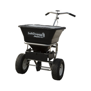 SaltDogg SaltDogg® 1.5 Cubic Foot Walk Behind Broadcast Spreader with Stainless Steel Frame