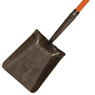 A.M. Leonard SHOVEL FORGED SQUARE POINT WITH FIBERGLASS HANDLE