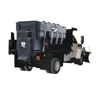 SaltDogg SaltDogg® SHPE3000 Electric Poly Hopper Spreader with Auger