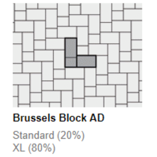 Unilock Brussels Block®  XL