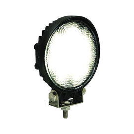 Buyers Products Company 4.5 Inch Round LED Clear Flood Light with Black Housing