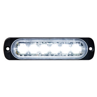 Buyers Products Company Thin 4.5 Inch Horizontal LED Strobe Light Series