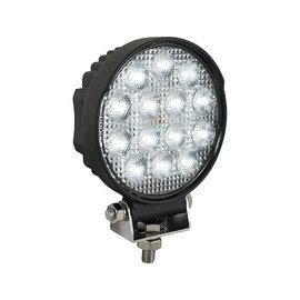 Buyers Products Company Ultra Bright 5 Inch Wide Round LED Flood Light