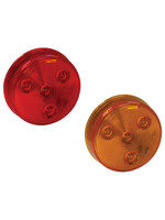 Buyers Products Company 2.5 Inch Round Marker/Clearance Light with 4 LEDs