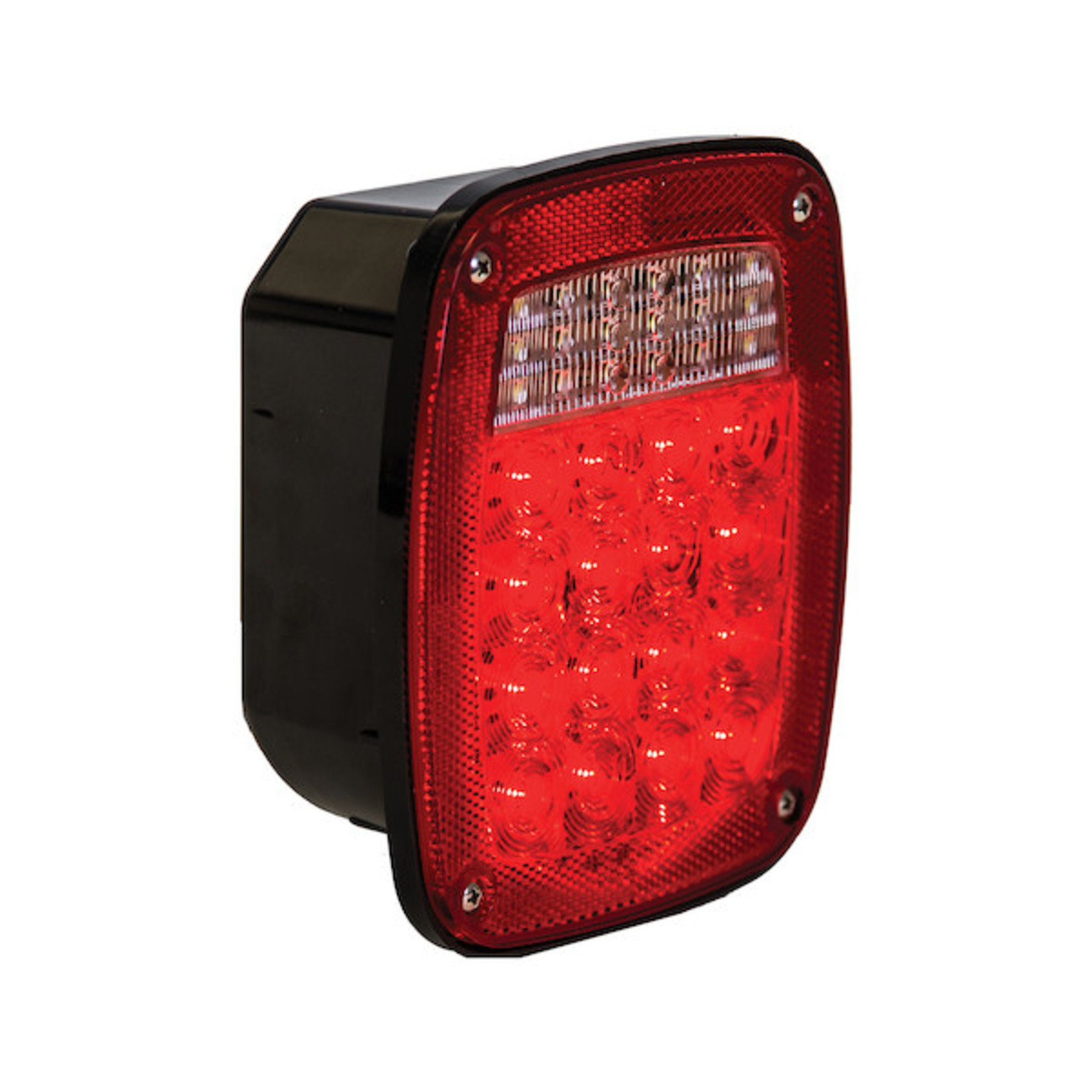 Buyers Products Company 5.75 Inch Box Style Stop/Turn/Tail Light