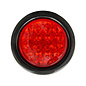 Buyers Products Company 4 Inch Red Round Stop/Turn/Tail Light Kit With 18 LED