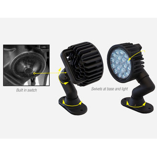 Buyers Products Company Ultra Bright 5 Inch LED Articulating Flood Light