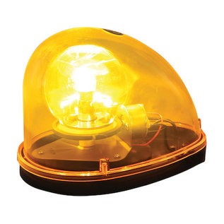 Buyers Products Company 5.5 Inch Amber Halogen Revolving Light