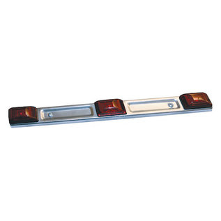 Buyers Products Company 14 Inch Stainless Steel ID Bar Light With 9 LEDs