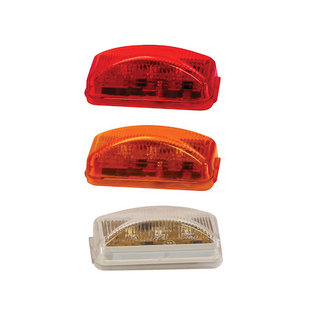 Buyers Products Company 2.5 Inch Surface Mount Marker Light with 3 LEDs