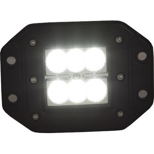 Buyers Products Company Recessed 3 Inch Wide Square LED Flood Light