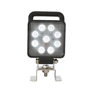 Buyers Products Company 4 Inch Square LED Flood Light with Switch and Handle