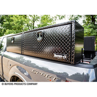Buyers Products Company Black Diamond Tread Aluminum Topsider Truck Box Series