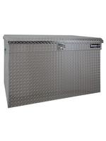 Buyers Products Company Diamond Tread Aluminum All-Purpose Jumbo Chest Series
