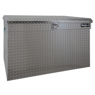 Buyers Products Company Diamond Tread Aluminum All-Purpose Jumbo Chest Series