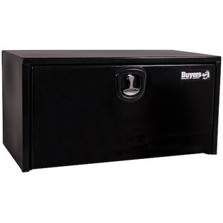 Buyers Products Company Black Steel Underbody Truck Box with 3-Point Latch Series