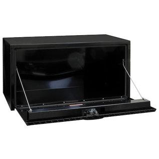 Buyers Products Company Black Steel Underbody Truck Box with Aluminum Door Series