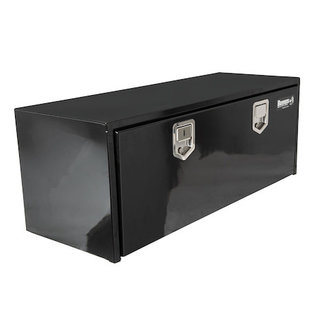 Buyers Products Company Black Steel Underbody Truck Box with Paddle Latch Series