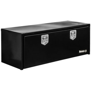 Buyers Products Company Black Steel Underbody Truck Box with T-Latch Series
