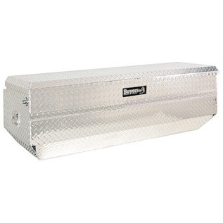 Buyers Products Company Diamond Tread Aluminum All-Purpose Chest with Angled Base Series