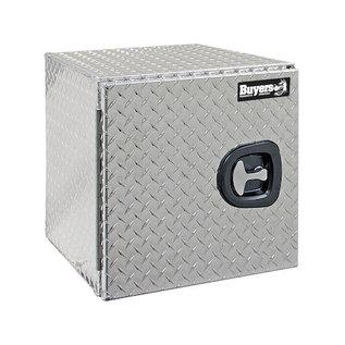 Buyers Products Company Diamond Tread Aluminum Underbody Truck Box with Barn Door Series