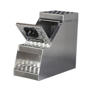 Buyers Products Company Heavy Duty Diamond Tread Aluminum Step Box Series