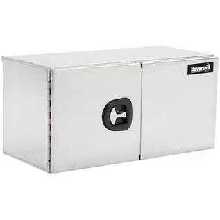 Buyers Products Company Smooth Aluminum Underbody Truck Box with Barn Door Series