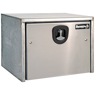 Buyers Products Company Stainless Steel Underbody Truck Box with Polished Stainless Steel Door Series