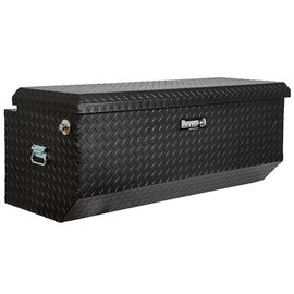 Buyers Products Company Textured Matte Black Diamond Tread Aluminum All-Purpose Chest with Angled Base