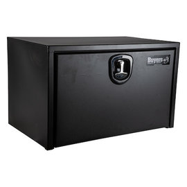 Buyers Products Company Textured Matte Black Steel Underbody Truck Box with 3-Point Latch Series