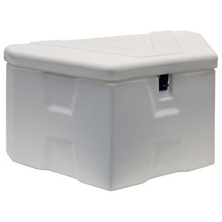 Buyers Products Company White Poly Trailer Tongue Truck Box Series
