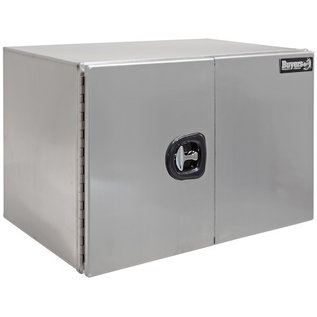 Buyers Products Company XD Smooth Aluminum Underbody Truck Box with Barn Door Series