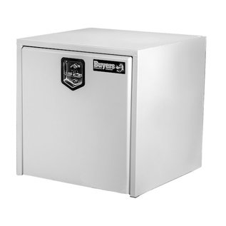 Buyers Products Company White Steel Underbody Truck Box Series