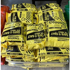 Pallet (49) 50 Lbs. Bags Morton Rock Salt (Yellow Bag)