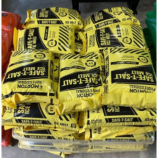 Pallet (49) 50 Lbs. Bags Rock Salt (Yellow Bag)