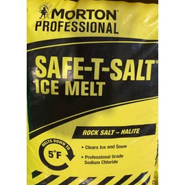 (1) 50 Lbs. Bag Rock Salt