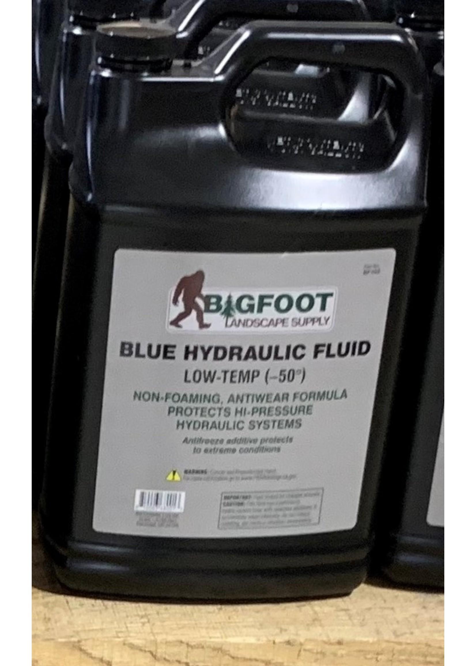 1 Gallon  Low Temp (-50) Blue Hydraulic Fluid