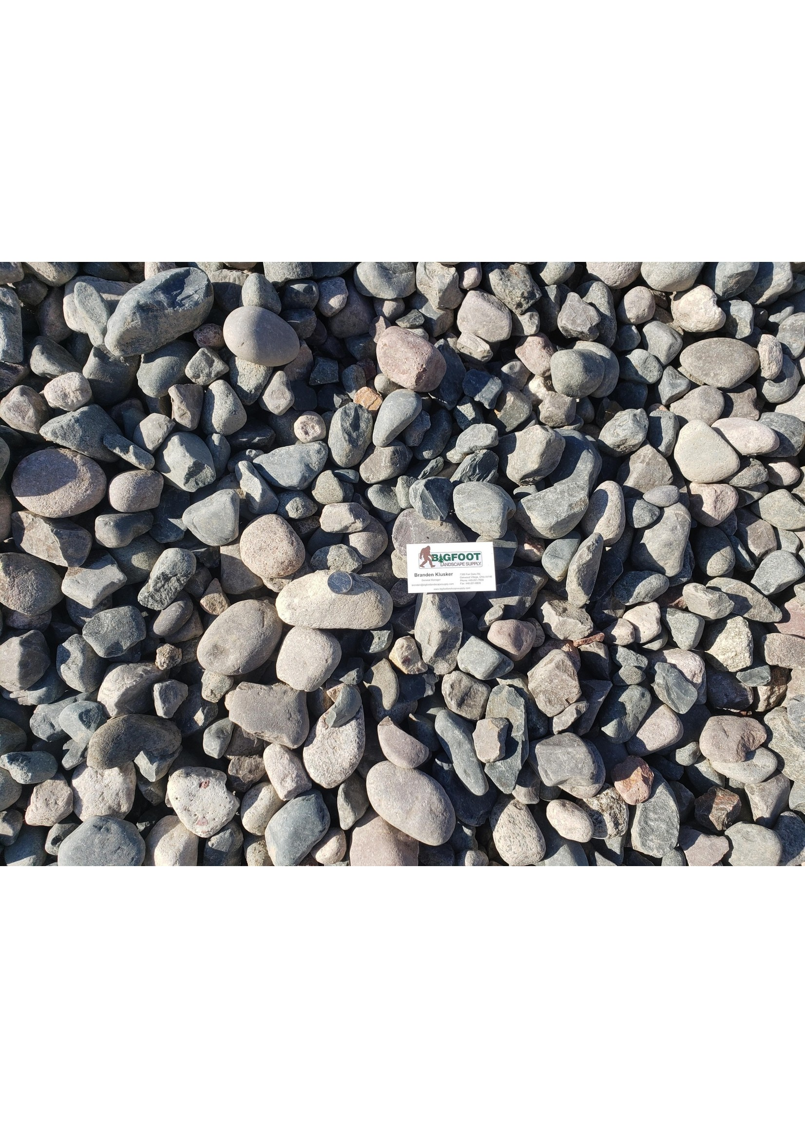 Bulk #4 Bluestone 1 YD (Decorative Canadian Stone)