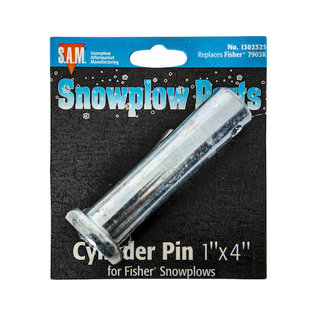 Buyers Products Company SAM Anchor Pin With Cotter Pin 1 x 4 Inch-Replaces Fisher #7903K
