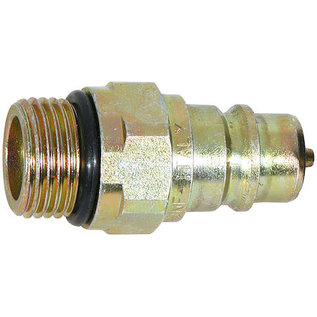 SAM SAM Male Coupler 3/4-16 Valve Block Side Low Spill-Replaces Meyer #22293