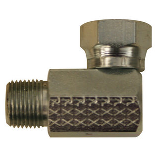 Buyers Products Company SAM 90® Swivel Elbow 3/8 Inch MOR To FPS-Replaces Boss #HYD01620