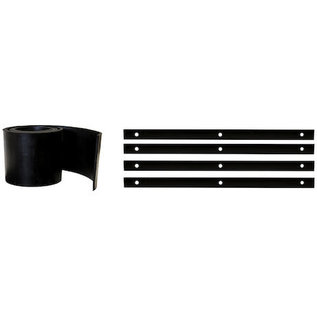 Buyers Products Company SAM Rubber Snow Deflector C-8.5/M-9/M-10 With Mounting Kit-Replaces Meyer #12898