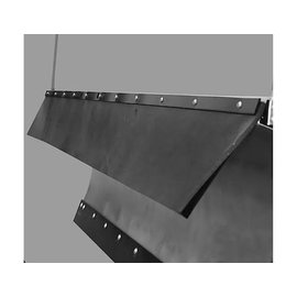 SAM SAM Belted Rubber Snow Deflector V-Plow 3/8 x 9 x 45.75 Inch