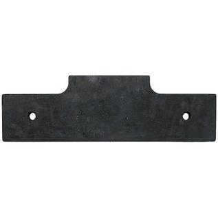 SAM SAM V-Plow Center Edge - Rubber Cutting Edge-Replaces OEM #63508