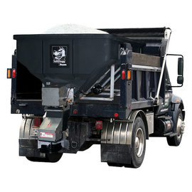 SaltDogg SaltDogg® SHPE4000 Electric Poly Hopper Spreader with Auger